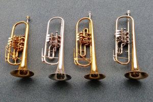 吹奏楽部の楽器