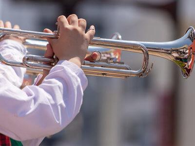 trumpetの演奏